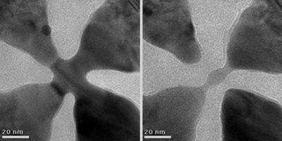 Des plaques métalliques réunies par de très fines connexions ou séparées par de minuscules espacements : ces objets ont été fabriqués en quelques coups de canons à électrons et peuvent devenir des capteurs, des transistors, des analyseurs d'ADN...