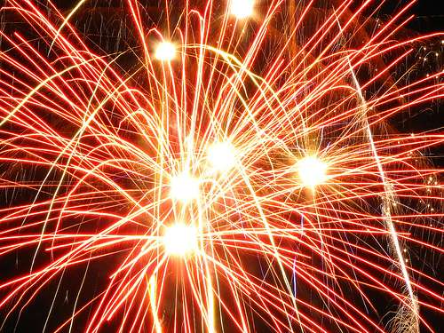 Futur-Sciences vous souhaite une bonne année 2010 ! © Creative Commons : Glen Bowman