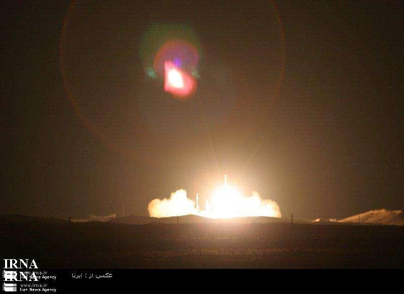 Lancement de Safir-2. Source télévision iranienne