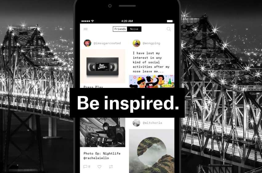 Après une période de test sur invitation, le réseau social Ello va tenter d'exister face au géant Facebook en proposant une application iOS gratuite. © Ello