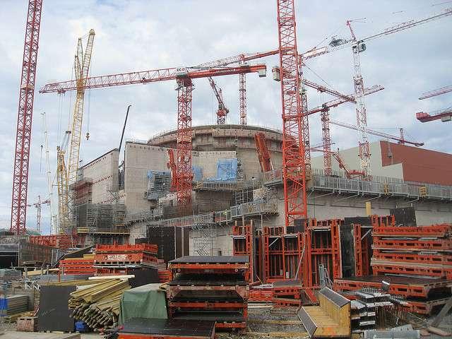Une étape importante a été franchie dans la construction de l'EPR d'Olkiluoto. © bbcwolrdservice, Flickr, cc by nc 2.0