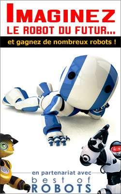"""Concours """"Imaginez le robot du futur"""" : les gagnants"""