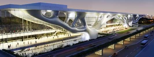 La 18e conférence sur le climat se tient au Qatar National Convention Center de Doha, la capitale du Qatar. Ce pays a le plus haut taux d'émission de CO2 par habitant. C'est aussi le premier exportateur mondial de gaz liquéfié. © Jan Golinski, UNFCCC