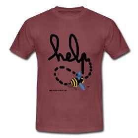 Des t-shirts originaux sur le thème des abeilles. © Futura-Sciences