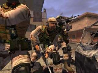 Capture d'écran du jeu vidéo Full Spectrum Warrior