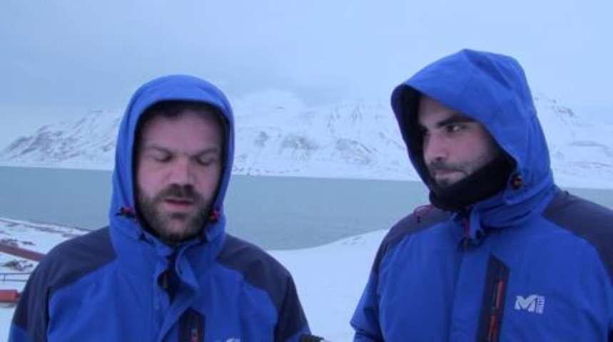Pôle Nord 2012 : fin des préparatifs au Spitzberg