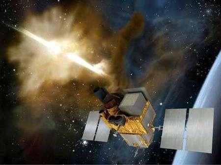La BCM4752 de Broadcom peut se connecter simultanément à davantage de satellites que toutes les autres puces du marché. Elle dispose, en outre, d'un autre atout, celui de l'autonomie, puisqu'elle consommerait deux fois moins d'énergie que les autres puces. © Cnes