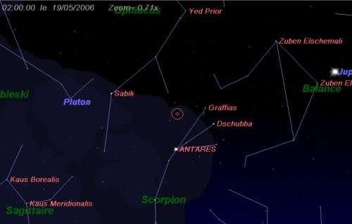 Maximum de l'essaim des météores des Sagittarides