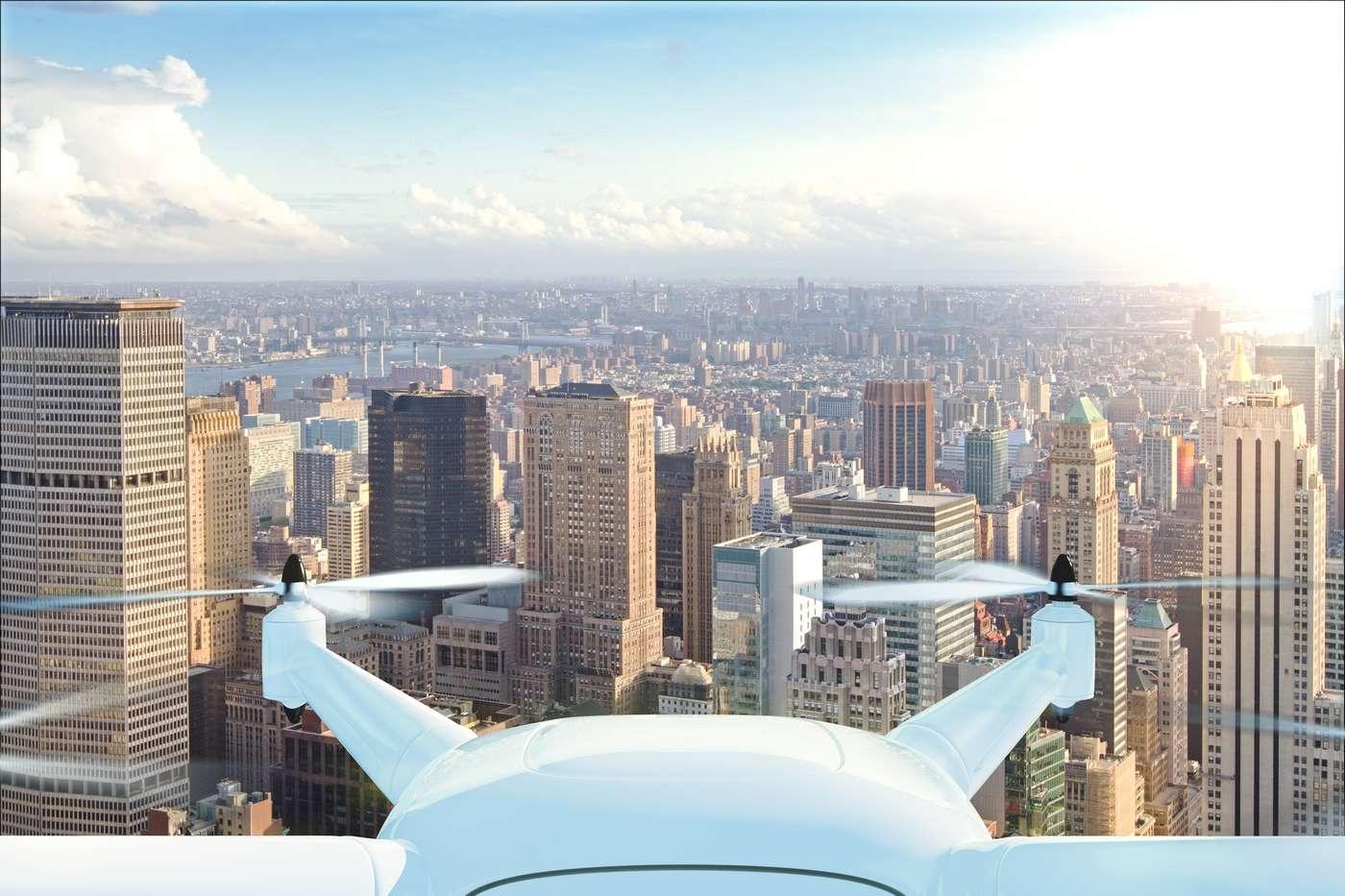 Alors que le marché des drones grand public est en plein essor et que les drones-livreurs pointent le bout de leurs hélices, les technologies d'évitement des obstacles sont amenées à jouer un rôle central dans la sécurité de ces appareils. © Who is Danny, Shutterstock