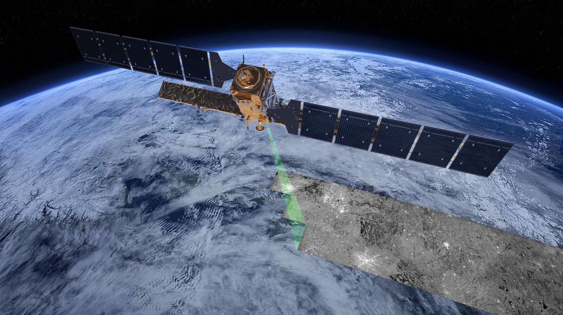 L'imagerie satellite constitue un nouveau moyen de détection des essais nucléaires, plus précis que les mesures sismiques conventionnelles. © ESA, ATG medialab
