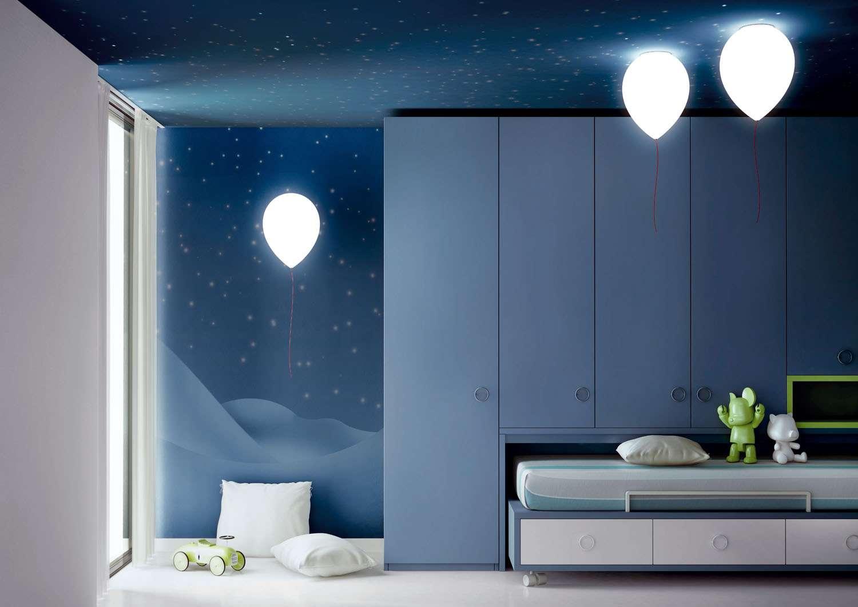 Les lampes en ballon de baudruche constituent l'une des nouvelles tendances de la décoration. © Estiluz