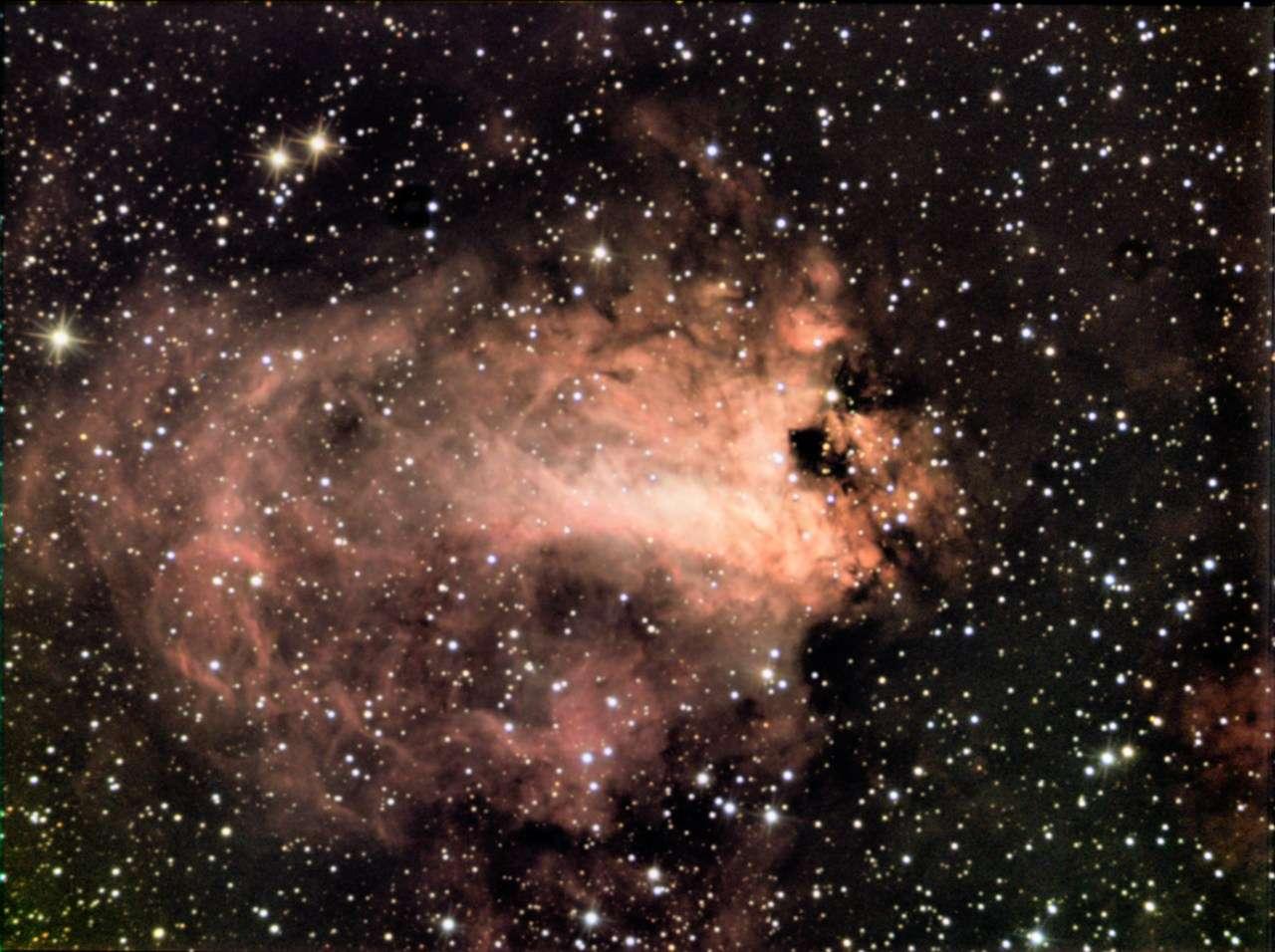 Image réalisée par «Chamois» (son pseudo sur le forum) avec une caméra CCD et un télescope de 200 mm.