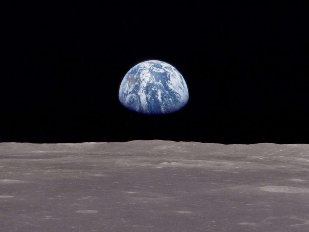 Il y a 45 ans jour pour jour, l'équipage d'Apollo 8 prenait ce cliché mémorable. Aujourd'hui, la Nasa retrace cette histoire par l'intermédiaire d'une vidéo. © Nasa