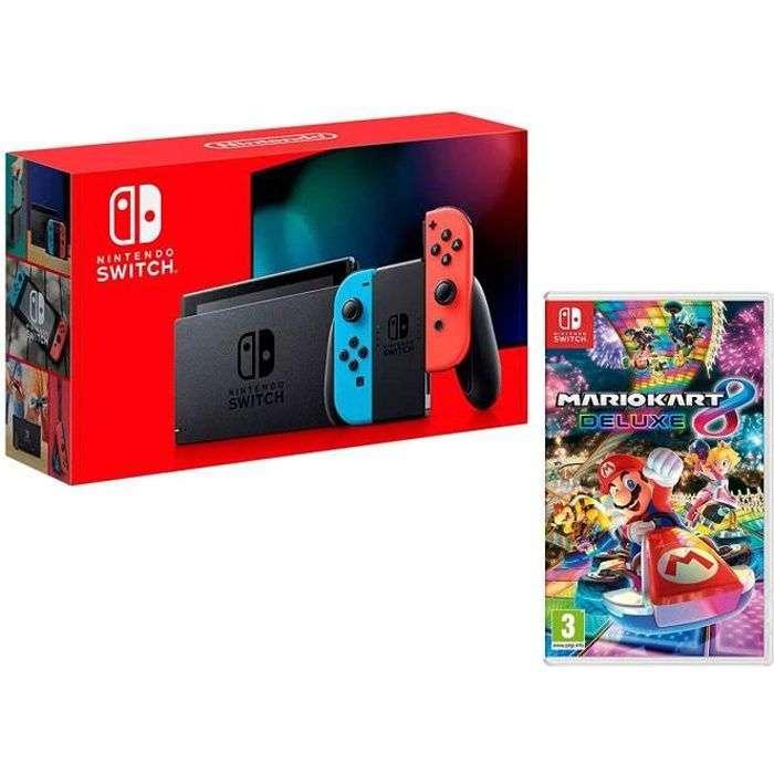 Bon plan : la Nintendo Switch + Mario Kart 8 Deluxe © Cdiscount