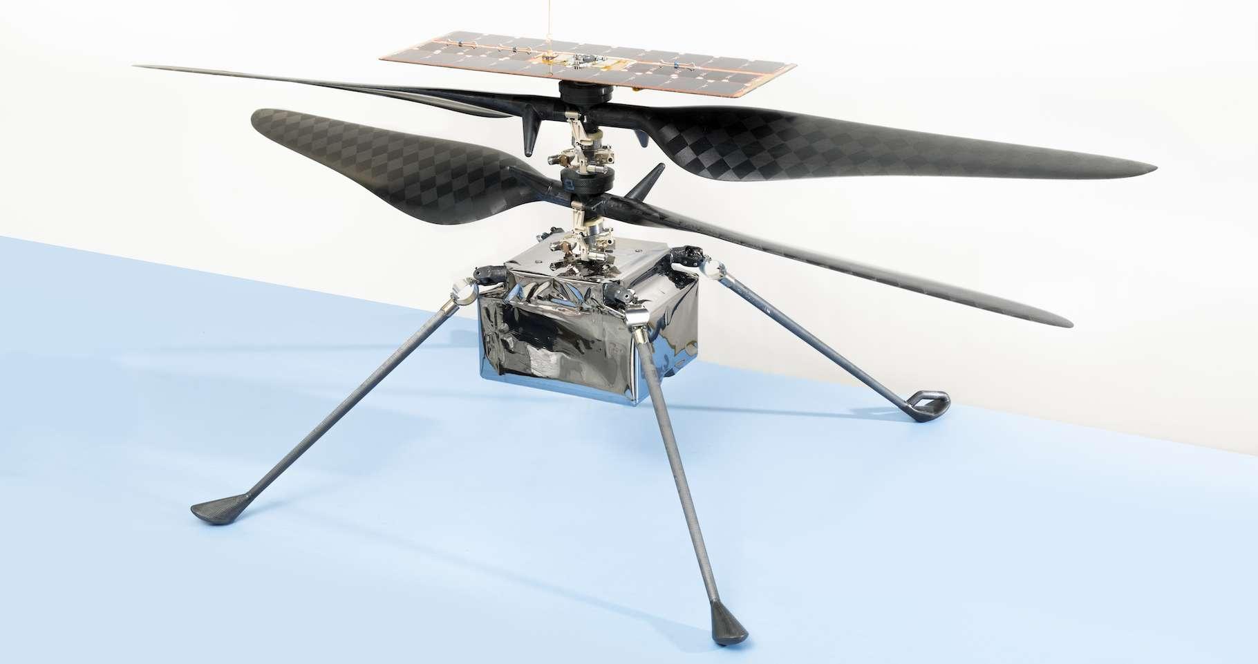 L'hélicoptère martien de la Nasa a un nom : Ingenuity. © Nasa, JPL/Caltech