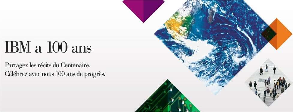 IBM auto-célèbre son centième anniversaire, qui permet aussi de visiter un siècle d'histoire de l'informatique. © IBM