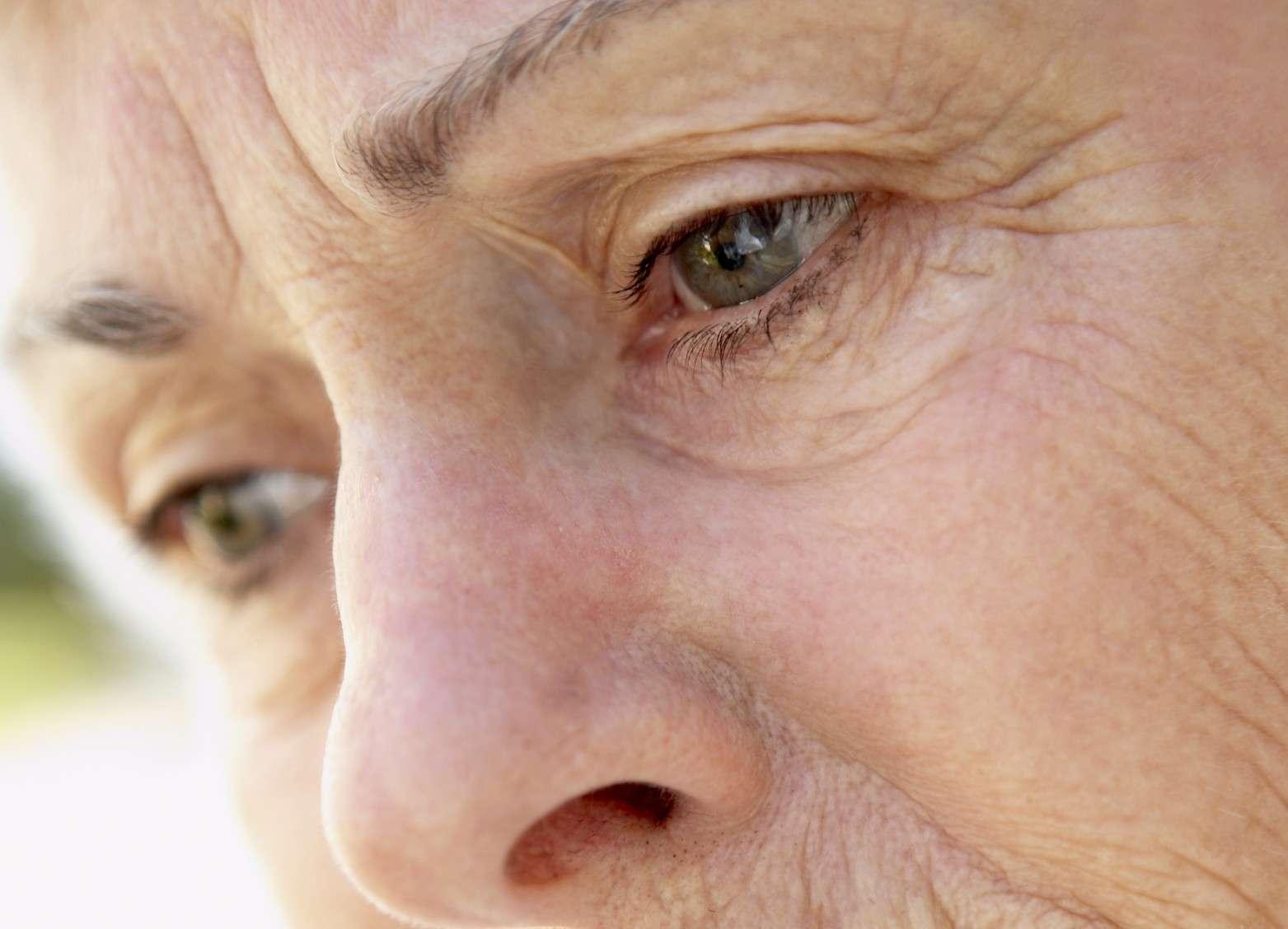 La myodésopsie, une sensation de plus en plus marquée avec l'âge... © Phovoir