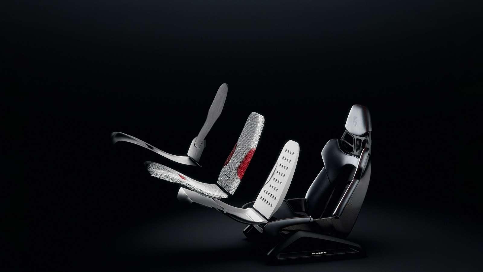 « À long terme, la technologie permettra également de proposer des solutions entièrement personnalisées si un nombre suffisant de clients s'y intéressent », annonce Porsche. © Porsche