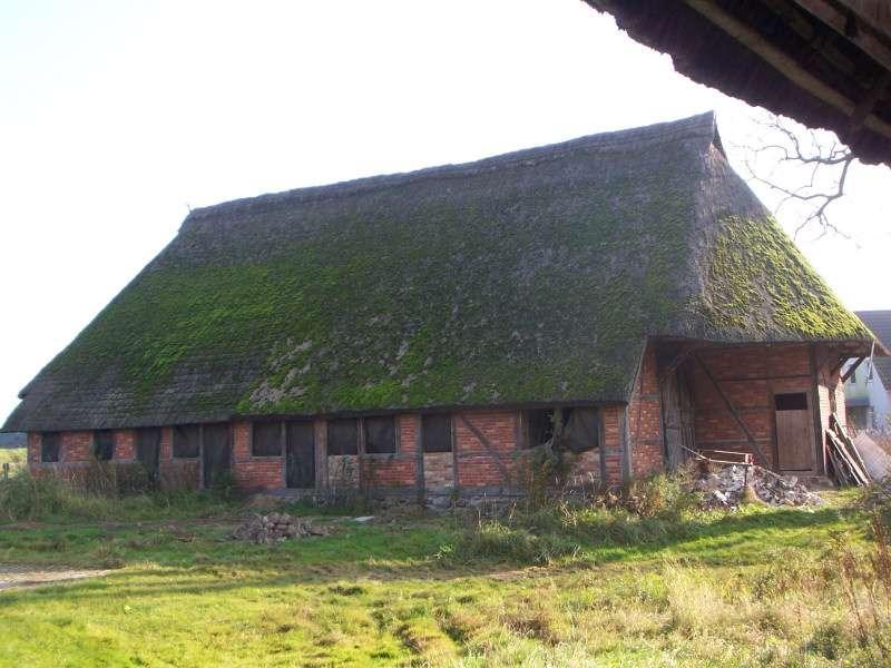 La chaume est utilisée pour réaliser la toiture des maisons en Bretagne et en Normandie. © Ch.Pagenkopf, CC BY-SA 3.0, Wikimedia Commons