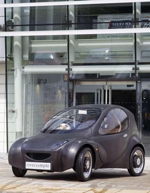 L'Urban Car, taillée pour la ville, et uniquement pour la ville... © Riversimple