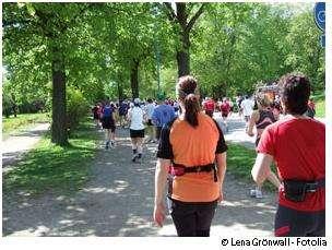 Les points de côté peuvent être évités avec un bon entraînement physique. © Lena Gronwall/Fotolia