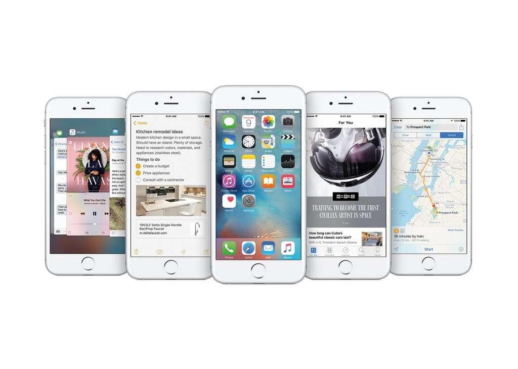 Les mises à jour iOS 9 et Watch OS 2 seront disponibles à partir du 16 septembre. © Apple