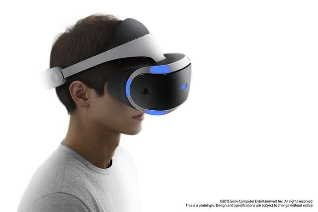 Le casque de réalité virtuelle PlayStation VR de Sony. © Sony, Flickr, CC by-nc 2.0