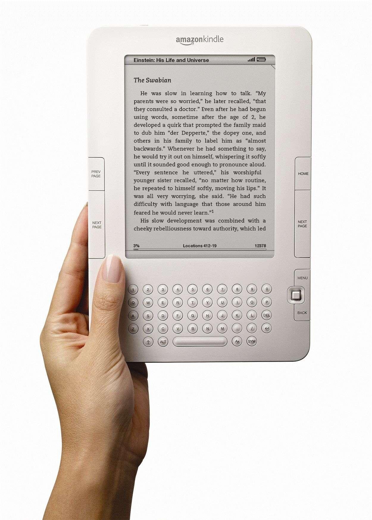 Le Kindle, un cadeau assez fréquent sous les sapins selon Amazon. © DR