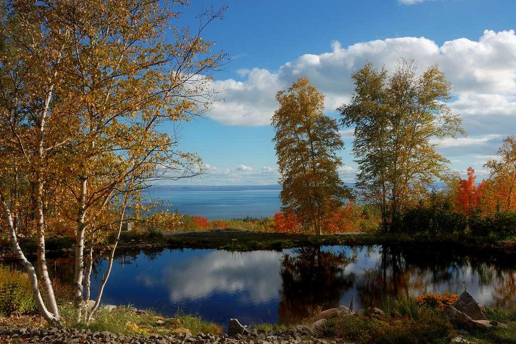 Nature sauvage dans les environs de Charlevoix, au Québec. Cette région naturelle a été reconnue en 1988 comme réserve de biosphère par le programme L'Homme et la biosphère de l'Unesco. © Mélanie Plante, cc by 2.0