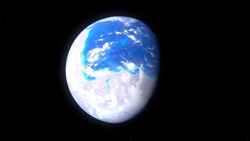 Voici un milliard d'années, durant le Précambrien, les masses continentales ne formaient qu'un seul supercontinent : Rodinia. © Kelvin Ma, Wikimedia Commons, cc by sa 3.0