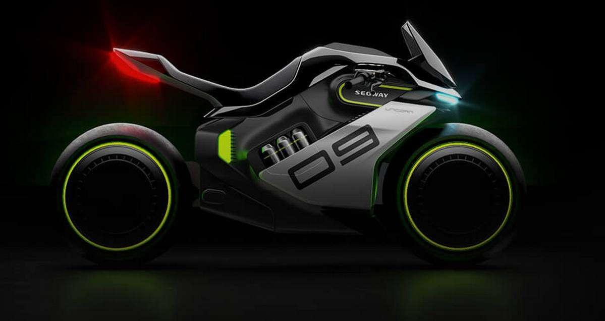 Segway-Ninebot dévoile un étonnant concept de moto électrique à hydrogène