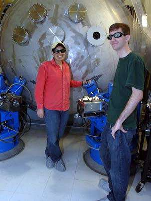 Nergis Mavalvala, MIT Assistant Professor of Physics et Thomas Corbitt