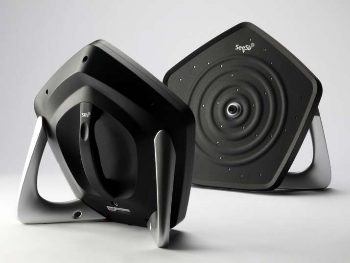 S'il existe déjà des caméras sonores capables de détecter la source d'un bruit parasite, le modèle développé par les chercheurs du Korea Advanced Institute of Science and Technology est le premier du genre à être portable, léger (2,5 kg) et simple d'utilisation. © Korea Advanced Institute of Science and Technology, SM Instruments