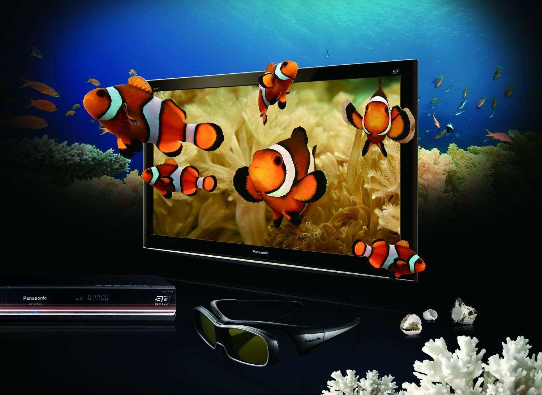 Les téléviseurs 3D vont s'installer en haut de gamme mais il faudra les compléter par un lecteur Blu-ray 3D afin de profiter pleinement du relief, pour l'instant essentiellement cantonné à des films enregistrés. © DR