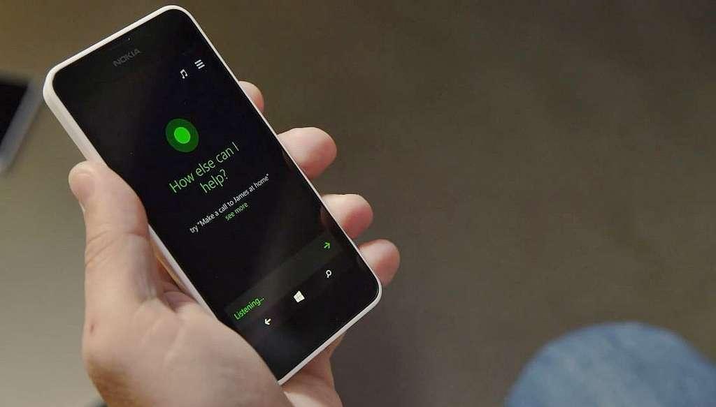 Cortana est l'assistant vocal de Microsoft pour Windows Phone. © Bhupinder Nayyar, Flickr, CC by 2.0