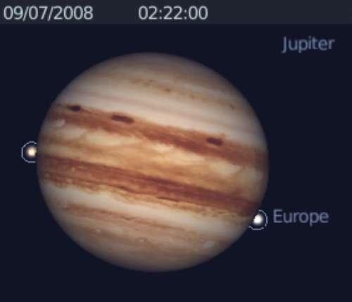 Observez les satellites de Jupiter