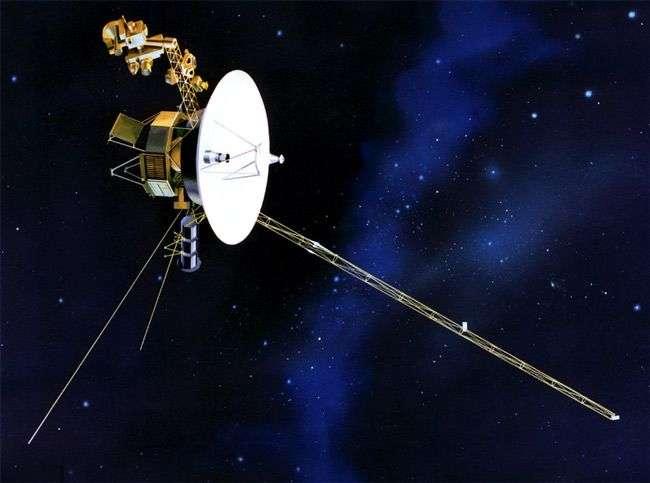 Une vue d'artiste d'une des deux sondes Voyager. Elles ont été lancées il y a 35 ans, en 1977. © Nasa/JPL-Caltech