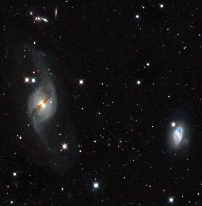 La mesure des distances des étoiles et des galaxies, une priorité pour permettre aux astronomes de mieux comprendre l'évolution de l'Univers. Crédit F. Poiget