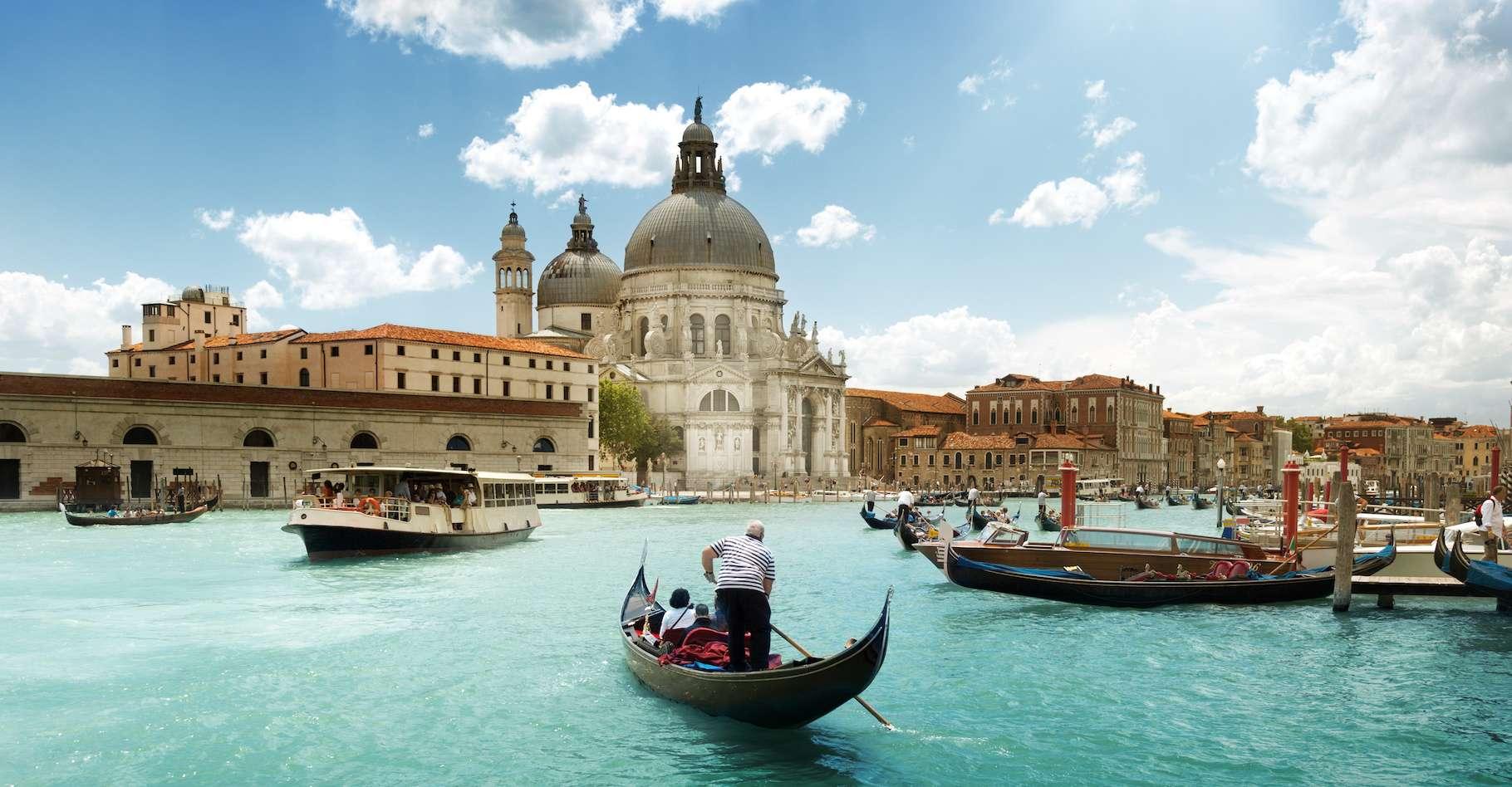 La plus haute marée jamais enregistrée à Venise a atteint 1,94 mètre le 4 novembre 1966. © Iakov Kalinin