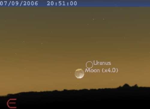 Eclipse partielle de Lune visible en Australie, Asie, Afrique et Europe