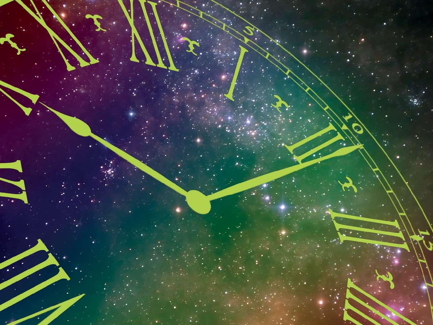 Dans La renaissance du temps, Lee Smolin passe en revue les différents statuts du temps au fil des théories cosmologiques. © Dunod