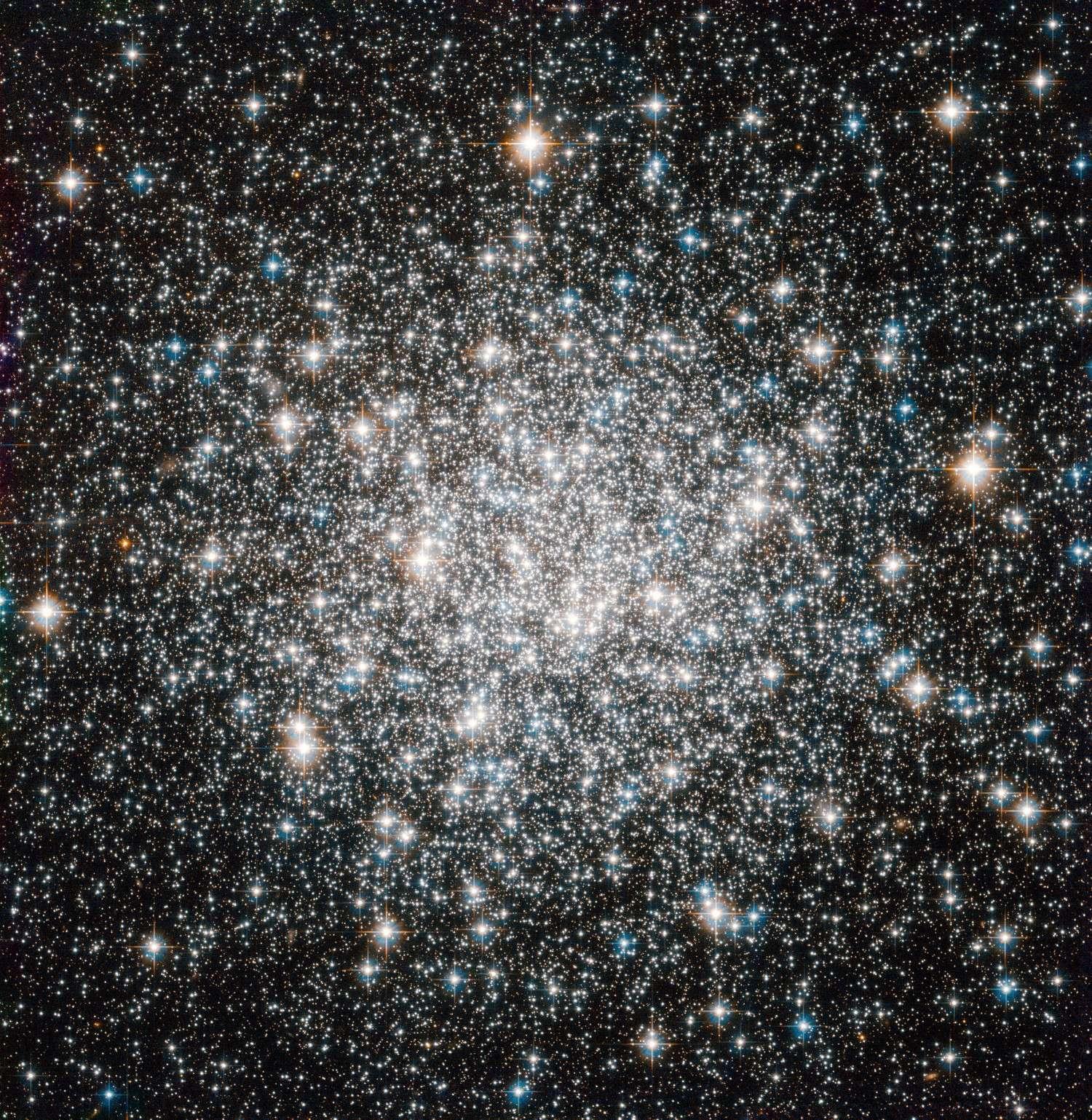 L'amas globulaire Messier 68, nouvelle cible du télescope spatial américain Hubble. © Nasa, Esa, Hubble