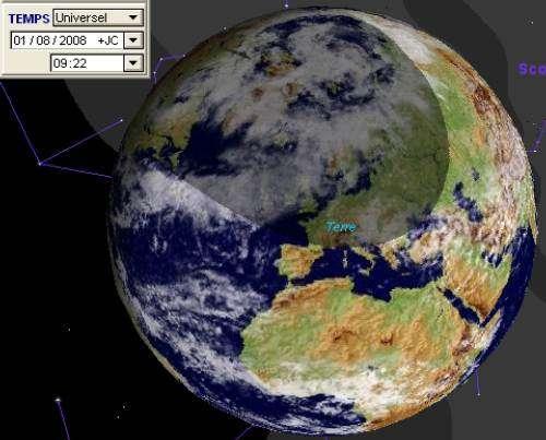 Eclipse Totale de Soleil visible du nord du Canada à la Chine - Partielle en France
