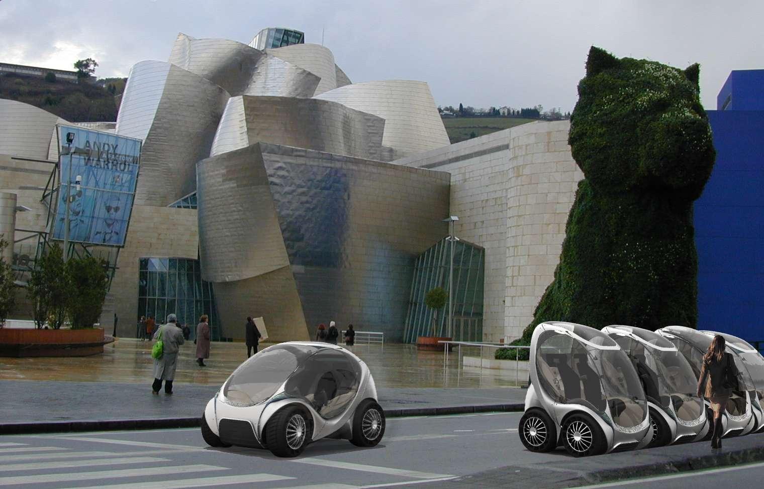 La préproduction de 20 voitures tests a démarré en juillet 2012 à Vitoria-Gasteiz en Espagne. Hiriko pourrait être déclinée en version pickup et décapotable. © Hiriko.com