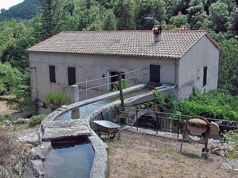 Bief d'un ancien moulin à eau. © Dr Michel Royon, Wikimedia CC (by-sa 3.0)