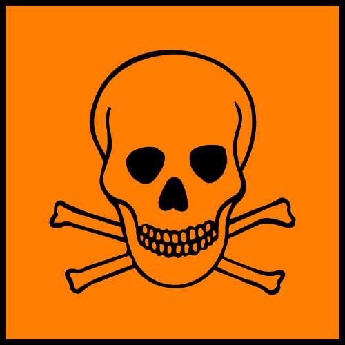 La créosote est un produit toxique et cancérigène. Crédits DR.