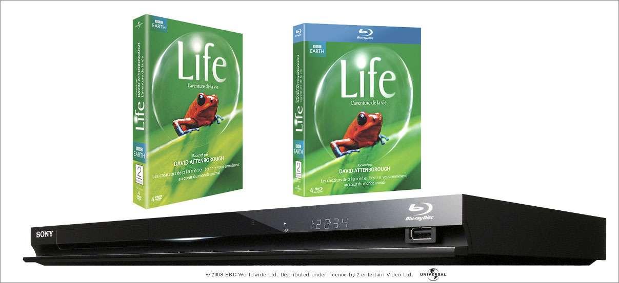 Concours LIFE : gagnez un 1 lecteur Blu-ray, des coffrets 4 Blu-ray et des coffrets 4 DVD.