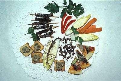 Qu'est-ce qu'on mange ce soir ? Oh, chouette, des insectes ! © Insectarium de Montréal