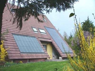 L'installation de panneaux solaires accorde un crédit d'impôt de 50% - Crédits : DR