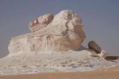 Craie du désert blanc © François Michel